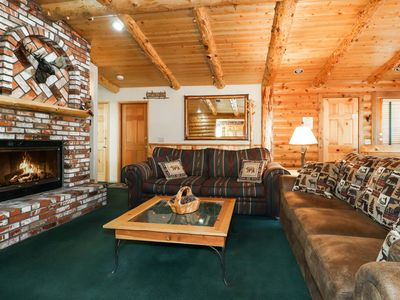 Photo for Moose Haven: Close to Snow Summit & the Village! Wood Burning & Gas Fireplace! WiFi! Gas BBQ!