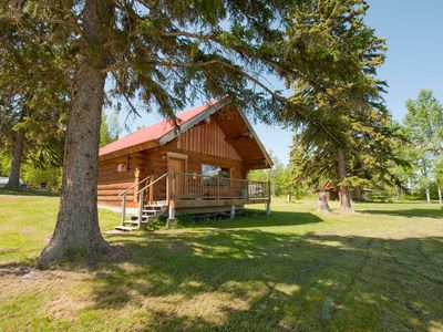 Photo for 3BR Cabin Vacation Rental in Canim Lake, BC