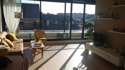 Photo for Beautiful, very bright apartment in the center of Paris, superb view.