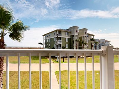 Photo for Nautical condo with ocean views, pools, hot tub, and private balcony