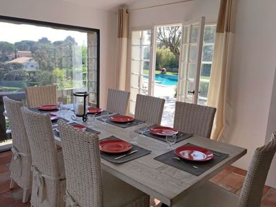 Photo for House in the center of Sainte-Maxime with Parking, Internet, Washing machine, Pool (639103)