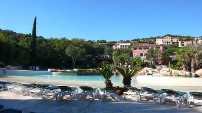 Photo for Restanques Saint Tropez. Pierre and holidays. Sea view. 3 pools