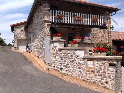 Photo for House with 3 self-catered rooms located in a hamlet, 1,5Km from the village