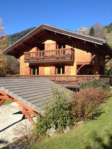 Photo for Chalet with stunning views in the Valley D'Abondance