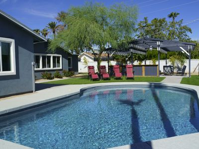 Photo for Fabulous-for-Families with putting green, heated* pool, and outdoor oasis!