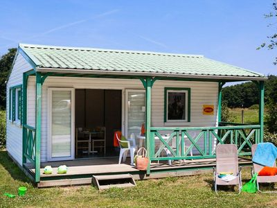 Photo for Camping Château La Forêt **** - Cinnamon Cottage 2 Rooms 5 Persons