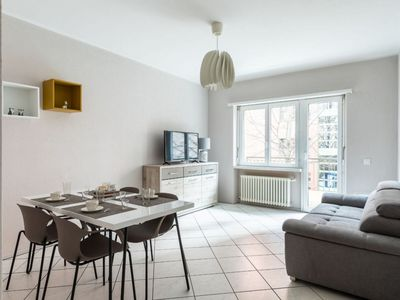 Photo for Cozy three-room apartment near Lido of Lugano and Exhibition Center