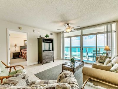Photo for 6th Floor, Beachfront. Sundeck, Lazy River, Kiddie Pools | Bluewater Keyes - 606
