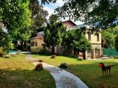 Photo for Villa Cesarina, Lake Garda, Salo ', Villa in a park with private swimming pool