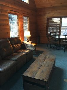 Photo for Cozy cabin condo located within walking distance of downtown, trails, and more