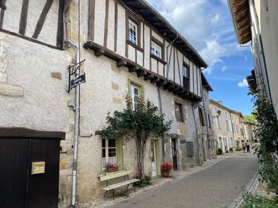 Photo for La Maison Bancale,  Medieval house in stunning village, with great restaurants!