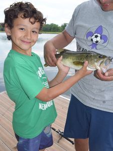 Great lake fishing from our private dock
