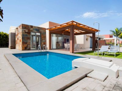 Photo for Villa with private pool Salobre Villas Terrazas I