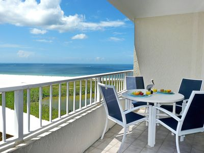 Photo for Penthouse beachfront condo w/ heated pool and unrivalled views