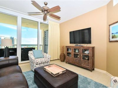 Photo for Updated Beachview Condo. Large End Unit with Two Balconies. Free Beach Service