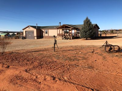 Photo for Pet friendly Ranch style home in rural area with great views, and open spaces.