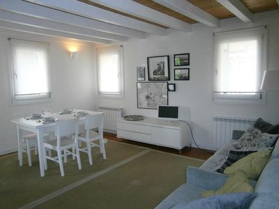 Photo for Beautiful apartment in the city center - 2 minutes from the beach