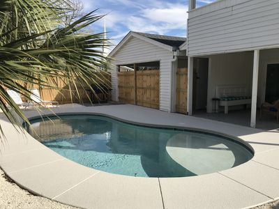 Photo for Panama City Beach House Rental - Private Pool - 1 Block to Beach