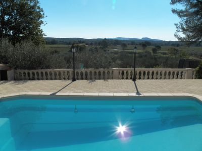 Photo for Pretty country house with swimming pool and 4000m2 of land in the heart of Provence