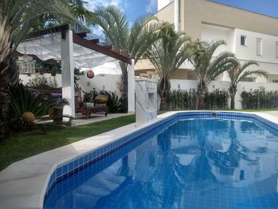 Photo for BEAUTIFUL AND COMFORTABLE HOUSE IN JURERÊ INTERNATIONAL - SEASON