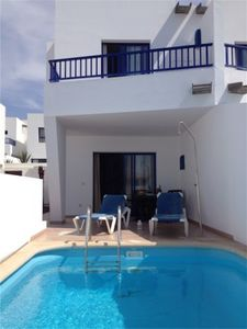 Photo for Villa with 2 bedrooms in Puerto Marina Rubicon with private pool, sat and wifi
