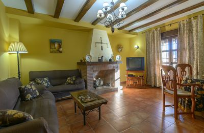 Photo for Rural house 15 minutes from Trujillo, special for groups with children, cycling