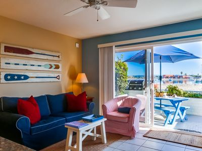 Photo for Great Discounted Rates for August - Beach and Waterfront 2 bedroom