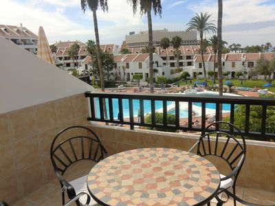 Photo for Parque Santiago II - 2 bed Duplex with pool views