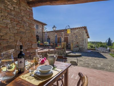 Photo for San Gorgone plus, apartment in country house near Florence