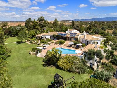 Photo for Quinta da Brisa, luxury villa, pool, tennis court, putting green
