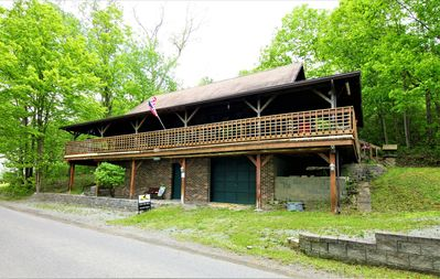 Photo for Authentic Log Cabin-Pet Friendly-Free Wifi-Permanent Dock-Keuka Lake Wine Trail