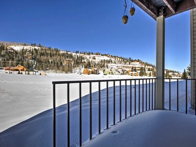 Photo for Brian Head Ski-in Condo w/Fireplace -Walk to Lifts