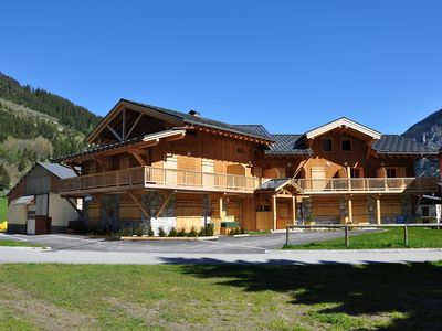 Photo for in the heart of the Vanoise National Park T3 new duplex 4 people