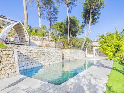 Photo for Splendid Villa renovated with taste - swimming pool - gym - sea view