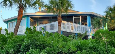 Photo for At the Beach - Private Home - Great Location-Gulf Views- Golf Cart!!!