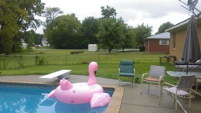 Photo for Great Place, older home,3 bedroom,2 bath, near nashville. inground pool