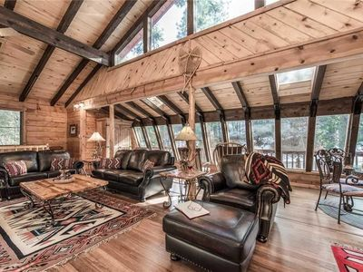 Photo for Antler Mountain Lodge - Four Bedroom Cabin