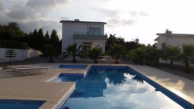 Photo for Village Location with stunning Sea/Pool views, 3 minutes walk from restaurants
