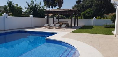 Photo for Luxury 4 bed villa in El Paraiso beachside