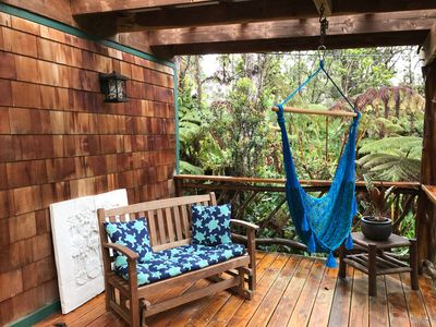Photo for Lazy Lehua Cottage ~ Whimsical & Charming ~ Private Home on 1/2 Acre Rainforest
