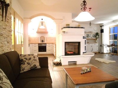 """Photo for 5 star apartment """"Sissi"""" with heated pool & fantastic panorama"""