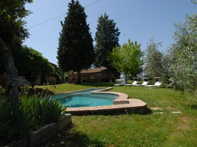 Photo for Villa in Città della Pieve. A peaceful oasis among woods and olive groves