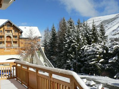 Photo for Big apt - 100 m from the slopes