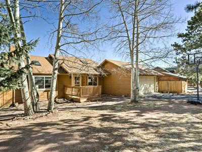 Photo for Woodland Park House w/Yard, Deck & Mountain Views!