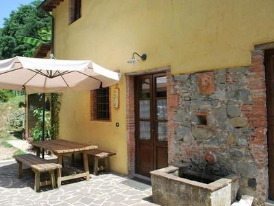 Photo for Holiday apartment Lucca for 2 persons with 1 bedroom - Holiday apartment in a farmhouse