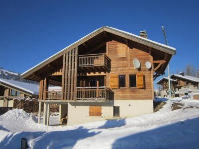 Photo for CHALET TO RENT LES GETS - COMFORTABLE - 8 PERS - POELLE A BOIS - 150 M FROM THE SLOPES - NAVETTES - FULL SOUTH