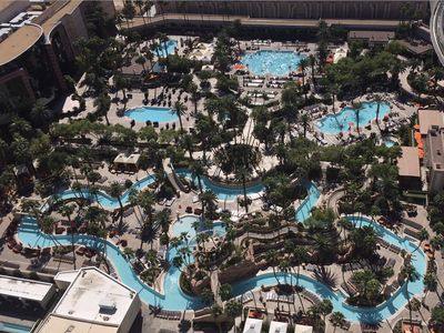 Photo for Signature MGM Pool View 874 sq ft One Bedroom Free Valet Parking No Resort Fee