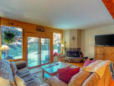Photo for Comfy, 2-story townhome w/ shared pool, hot tub - right off highway, near slopes