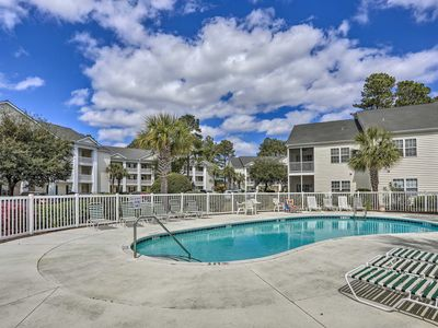 Photo for NEW! Cozy Condo 10 Min to Myrtle Beach Speedway!