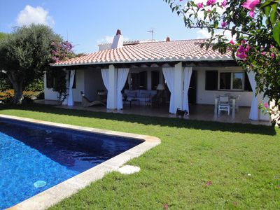 Photo for Charming villa in Cap den Font with private pool